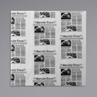 American Metalcraft PPCH4N 16 inch x 16 inch Newspaper Print Basket Liner / Deli Wrap Paper - 1000/Pack