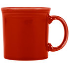 Homer Laughlin 570326 Fiesta Scarlet 12 oz. China Java Mug - 12/Case