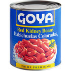 Goya #10 Can Red Kidney Beans - 6/Case
