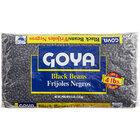 Goya 4 lb. Black Beans - 6/Case