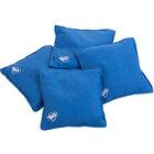 Triumph 12-0055BL-2W 16 oz. Blue Canvas Duck Cloth Bean Bags - 4/Pack