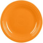 Homer Laughlin 466325 Fiesta Tangerine 10 1/2 inch Plate - 12/Case