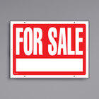 Cosco 098070 22 inch x 16 inch For Sale Sign with Numbers