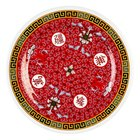 Thunder Group 1007TR Longevity 6 7/8 inch Round Melamine Plate - 12/Pack