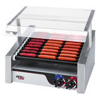 APW Wyott HRS-31S Non-Stick Hot Dog Roller Grill 19 1/2 inchW Slant Top - 120V