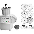 Robot Coupe CL50 Ultra Tex-Mex Dice Continuous Feed Food Processor with 6 Discs, Dice Cleaning & Wall Holder Kits - 1 1/2 hp
