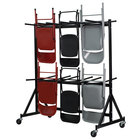 Flash Furniture NG-FC-DOLLY-GG Hanging Folding Chair Truck - Holds 84 Chairs