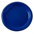 Dart Solo PS95B 9 inch Blue Plastic Plate - 500/Case