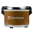 Town 56916W 72 Cup (36 Cup Raw) Commercial Rice Warmer with Woodgrain Finish - 120V