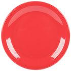 Carlisle KL20405 Kingline 6 1/2 inch Red Pie Plate - 48/Case