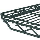 Metro 1448Q-DSG qwikSLOT Smoked Glass Wire Shelf - 14