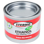 Sterno 20106 45 Minute Ethanol Gel Chafing Dish Fuel Canister - 144/Case