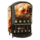Grindmaster PIC5 Five Flavor Powdered Specialty Beverage Dispenser