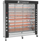 Rotisol-France GrandFlame GF1675-8E-SSP Electric Rotisserie with 8 Spits