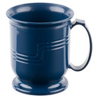 Cambro MDSM8497 Navy Blue Insulated 8 oz. Mug - Shoreline Meal Delivery System - 12/Pack