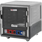 Metro C5 3 Series C533-CLFC-U-GY Insulated Low Wattage Undercounter Heated Holding and Proofing Cabinet with Clear Door and Universal Wire Slides - Gray