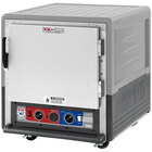 Metro C5 3 Series C533-CLFS-U-GY Insulated Low Wattage Undercounter Heated Holding and Proofing Cabinet with Solid Door and Universal Wire Slides - Gray
