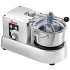 Sirman C-Tronic 40780428S 4 VT Variable-Speed 4 Qt. Stainless Steel Batch Bowl Food Processor - 4/5 hp