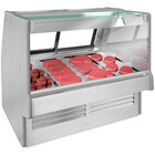 Structural Concepts GMGV4 Fusion 51 inch Vertical Refrigerated Deli Service Case