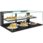 Structural Concepts NR3620DSV Reveal 36 inch Non-Refrigerated Countertop Bakery Display Case with Shelf