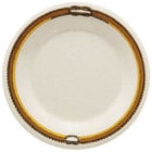 GET WP-7-RD 7 1/2 inch Diamond Rodeo Wide Rim Plate - 48/Case