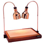 Cres Cor CSH-122-10PB Carving Station with Dual Heat Lamps - 32 1/2