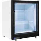 Master-Bilt MBCTM4-F Fusion 24 inch White Countertop Display Freezer