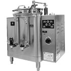 Grindmaster 74110E Single Midline 10 Gallon Fresh Water Coffee Urn - 120/208/240V 1 Phase