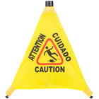 20 inch Pop-Up Safety Cone Wet Floor Sign