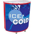 Red Billboard 600 94 qt. Portable Beverage Tub