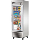True T-23FG-LD 27 inch Single Glass Door Reach In Freezer with LED Lighting