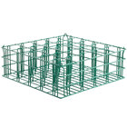16 Compartment Catering Glassware Basket - 4 3/8