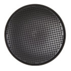 HS Inc. HS1060 21 inch Charcoal Polypropylene Pizza Pleezer Pizza Tray - 12/Case