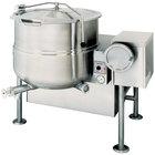 Cleveland KGL-60-T Liquid Propane 60 Gallon Tilting 2/3 Steam Jacketed Kettle - 190,000 BTU
