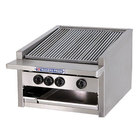 Bakers Pride L-72GS Natural Gas 72 inch Low Profile Glo Stone Charbroiler - 306,000 BTU