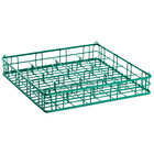 16 Compartment Catering Glassware Basket - 4 1/2 inch x 4 1/2 inch x 5 inch Compartments