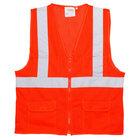 Orange Class 2 High Visibility Surveyor's Safety Vest - XL
