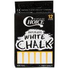 Choice White Chalk - 12/Pack