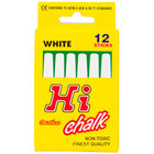 Choice White Chalk   - 12/Box