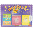 Doodles Children's Interactive Placemat - 1000/Case