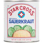 Star Cross Sauerkraut #10 Can