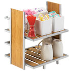 Cal-Mil 1278 Eco Modern Two Tier Merchandiser - 14