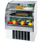 Beverage-Air CDR3/1-W-20 White Curved Glass Refrigerated Bakery Display Case 37 inch - 13.4 Cu. Ft.