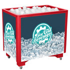IRP Red Ice Saver 060 Mobile 100 Qt. Frost Box with Casters