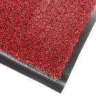 Cactus Mat 1437M-R36 Catalina Standard-Duty 3' x 6' Red Olefin Carpet Entrance Floor Mat - 5/16 inch Thick
