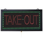 Aarco TAK12M Take Out LED Sign