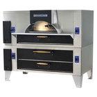 Bakers Pride FC-516/DS-805 IL Forno Classico Liquid Propane Double Deck Oven - 48 inch