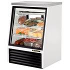 True TSID-36-2 36 inch Single Duty Two Door Refrigerated Deli Case