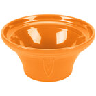 Homer Laughlin 431325 Fiesta Tangerine 1.25 Qt. Hostess Serving Bowl - 4/Case