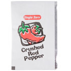 Crushed Red Pepper 1 Gram Portion Packet - 200/Case
